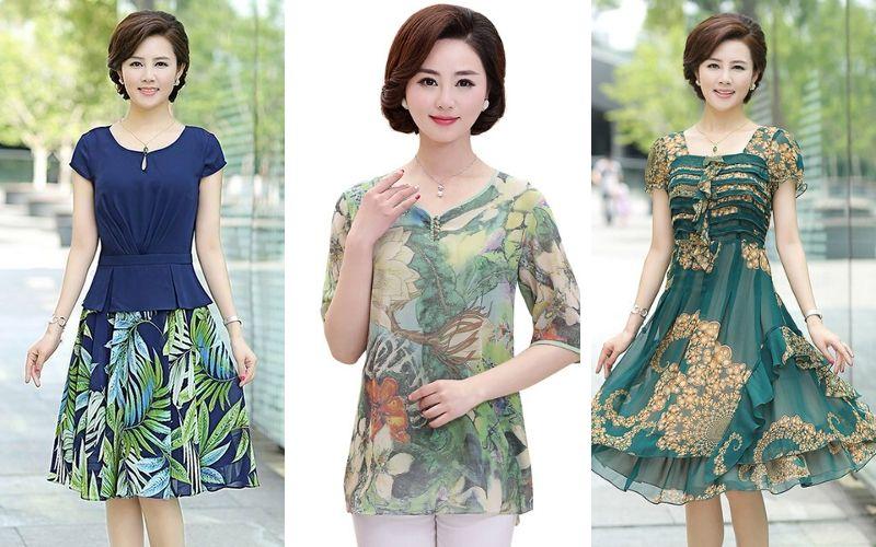 Lấy sỉ quần áo trung niên - Xưởng may Phong Loan