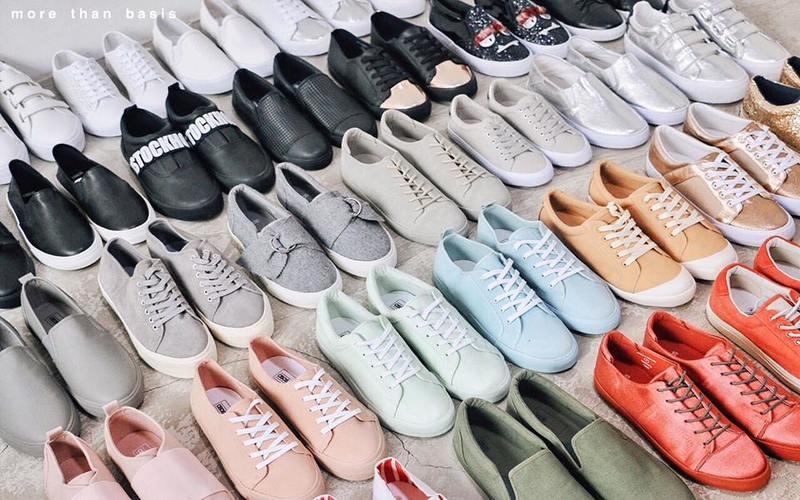 Giày dép Chợ An Đông