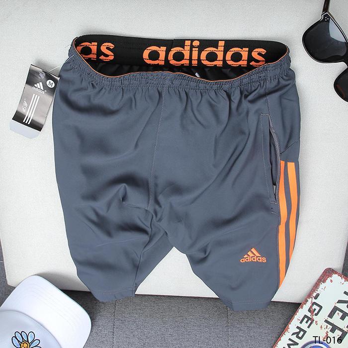 quần xám 3 sọc cam