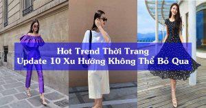 hot trend thời trang