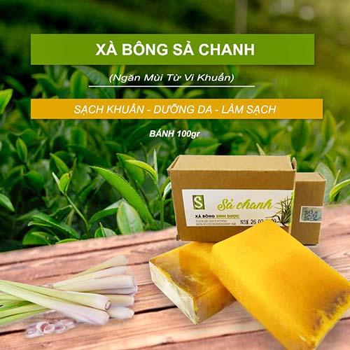 Xà Bông Sả Chanh - Ngăn Mùi Từ Vi Khuẩn