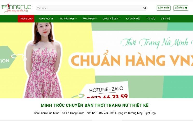 Váy đầm giá sỉ online Minh trúc