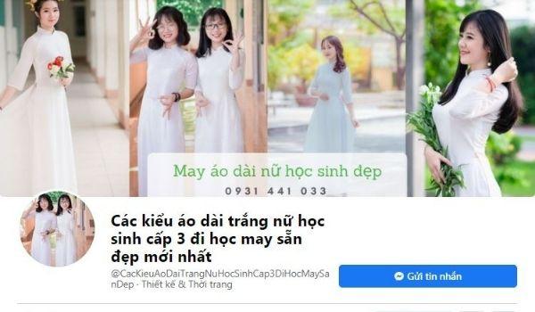 Fanpage Áo Dài Cô Ba