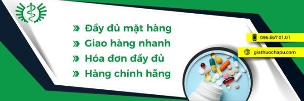 GIATHUOCHAPU.COM chuyên cung cấp dược phẩm giá sỉ chất lượng