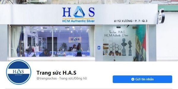H.A.S JEWELRY SILVER