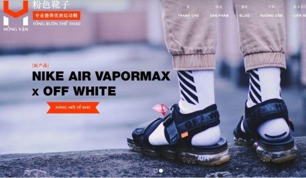 Hồng Vận - Tổng buôn sỉ giày dép thể thao quần áo, phụ kiện