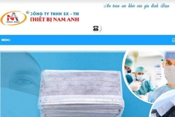 Khẩu Trang Nam Anh – Công Ty TNHH SX – TM Thiết Bị Nam Anh