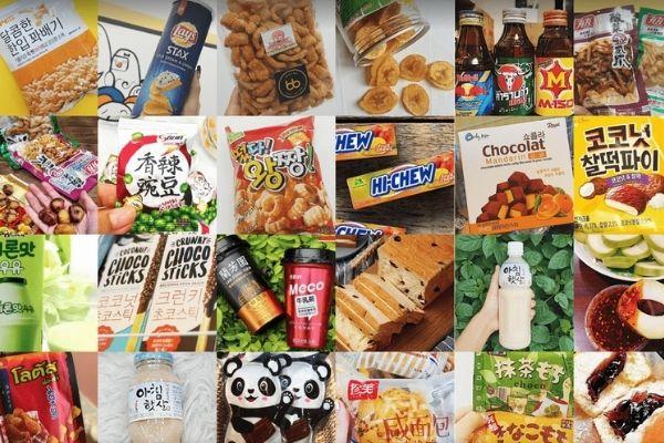 Nhập sỉ đồ ăn vặt nội địa Trung