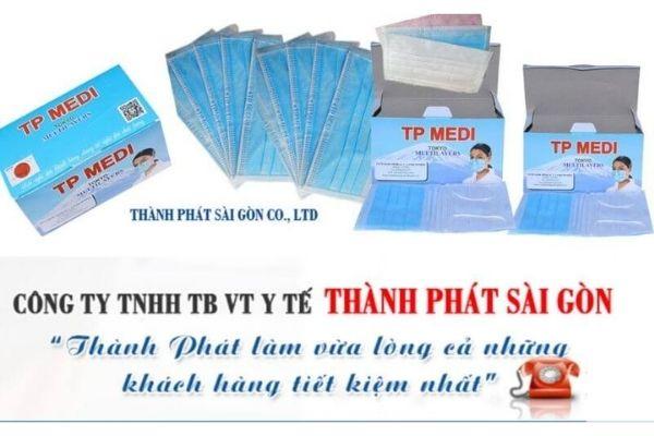 Thành Phát Sài Gòn Co.,Ltd – Nguồn hàng cung khẩu trang y tế giá sỉ
