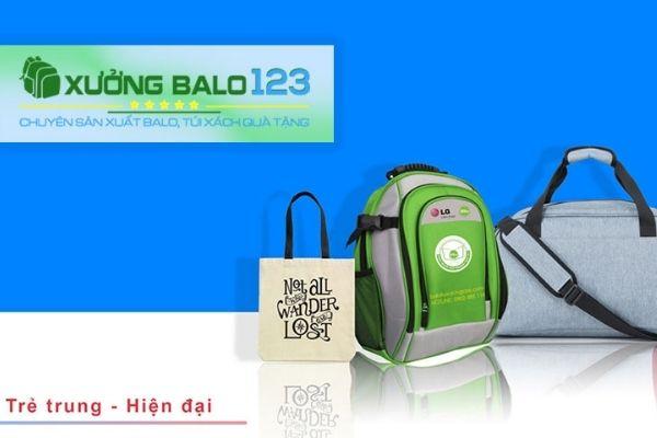Xưởng sản xuất quà tặng balo - Balo 123