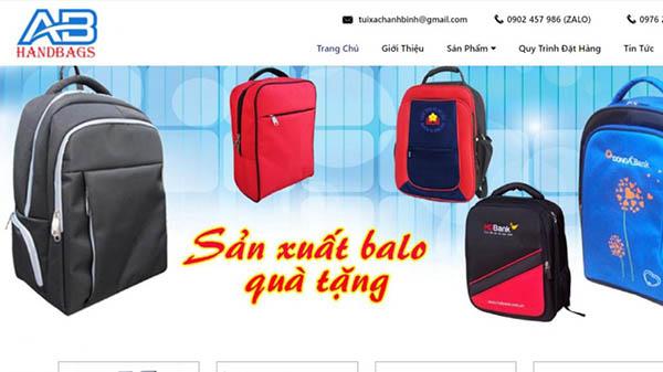 Công ty may túi xách Ánh Bình Việt Nam