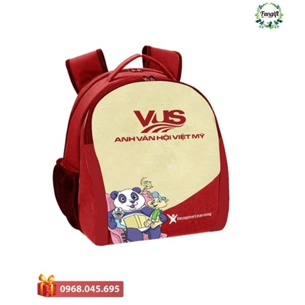Balo in logo của Fungift Việt