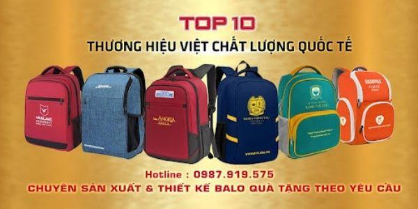 Xưởng may túi đeo chéo Thái Việt