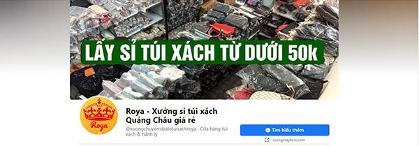 Roya - Xưởng sỉ túi xách Quảng Châu giá rẻ